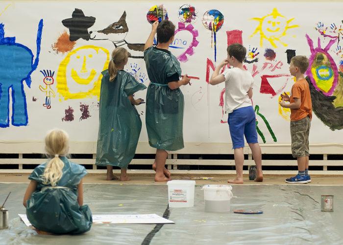 """Aus jedem Strich kann etwas werden – Bericht vom """"jugend creativ""""-Workshop auf dem Scheersberg"""